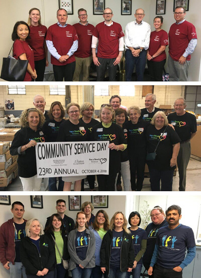 Baker Industries Volunteers